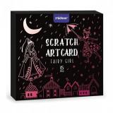 Set Scratch art Zana, 15 piese Mideer