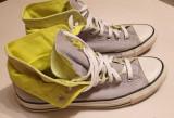 Teniși Converse All Star Gri/Neon, 42