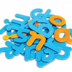 Set tactil Litere Learning Resources, 26 piese, plastic rezistent, 4 ani+