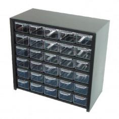Dulap metalic Polonia, 300 x 280 x 145 mm, 30 sertare