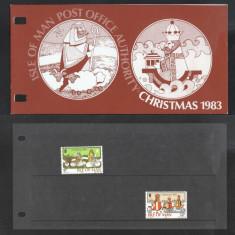 Isle of Man 1983 Christmas Presentation Folder K.392