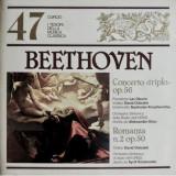 """Vinil Beethoven – Concerto """"Triplo"""" Op. 56 / Romanza No. 2 Op. 50"""