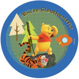 Covor copii rotund Pooh model 604 140x140 cm Disney