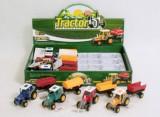 Jucarie Tractor cu remorca My Farm Tractor Midex 3050L, Verde