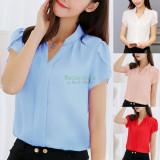 Bluza cu maneca scurta, pentru vară, birou sau alte ocazii, XXXL