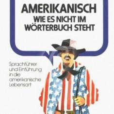 Amerikanisch wie es nicht im Worterbuch steht. Sprachfuhrer und Einfuhrung in die americanische Lebensart