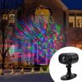 Proiector LED caleidoscop multicolor, IP65, telecomanda, pentru exterior