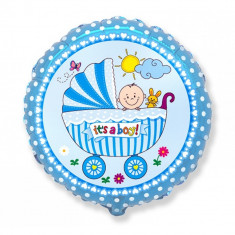 Balon folie 45cm carucior It's a boy!