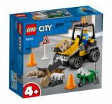 LEGO City - Camion pentru lucrari rutiere 60284