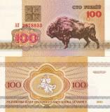 BELARUS 100 ruble 1992 UNC!!!