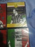Lot dvd legendele fotbalului, Romana