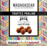 Trufe de Ciocolata Belgiana Artizanala cu Praline Madagascar Bio 75 grame Millesime Chocolat Cod: 0745125088235