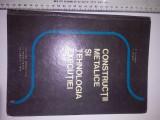 CARTE - constructii metalice si tehnologia executiei 1975