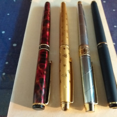 4 Stilouri China, colectie