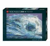 Cumpara ieftin Puzzle Heye Map Wave, 2000 piese
