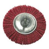 Perie slefuire cu tija Proline, tip circular, 75 mm