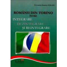 Romanii din Torino intre integrare, dezintegrare si reintegrare - Daniela Petronela FERARU