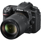 Aparat Foto DSLR D7500, 20.9 MP + Obiectiv 18–140mm VR, Nikon