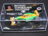 Macheta Benetton Ford B192 Michael Schumacher Microchamps 1:64