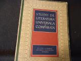 STUDII DE LITERATURA UNIVERSALA SI COMPARATA-I.C. CHITIMIA-359 PG A 4-