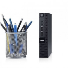 Calculator Dell Optiplex 3020M Micro Desktop, Intel Core i3 Gen 4 4160T 3.1 GHz, 8 GB DDR3, 128 GB SSD NOU