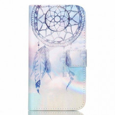 Husa Samsung Galaxy J5 J500 Flip Cu Stand Albastra
