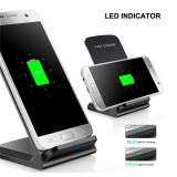 Universal Fast Charger statie Incarcator fara fir Wireless WIFI Qi telefon mobil