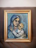 VAND Tablou ulei pictat de Maria Otetelesanu (1993)