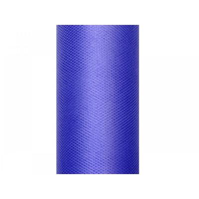 Tulle albastru 0,5 x 9m foto