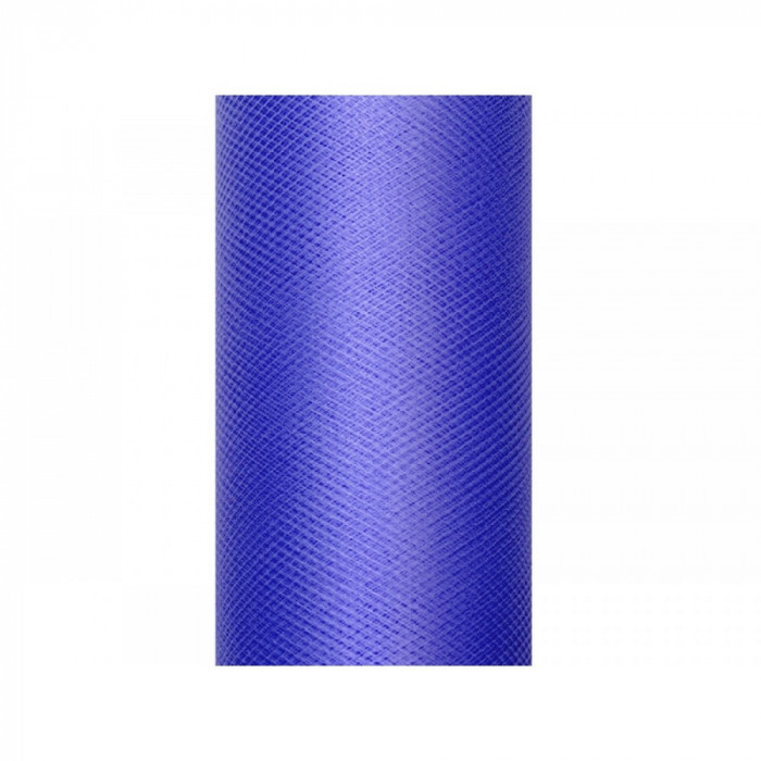 Tulle albastru 0,5 x 9m