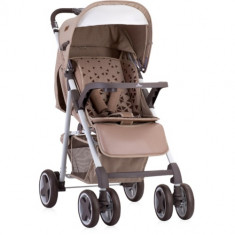 Carucior Aero 2 in 1 cu Cos Auto Inclus Beige Triangles