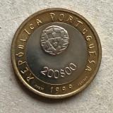 x347 Portugalia 200 escudos 1999 UNICEF