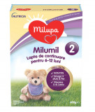 Lapte praf Milumil PreciNutri, incepand de la 6 luni, 600 g, Milupa