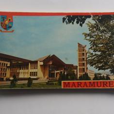 Carnet cu 27 Foto Tip Carte Postala Din Maramures - 1979