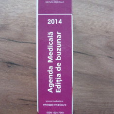 AGENDA MEDICALA 2014 ( editia de buzunar )