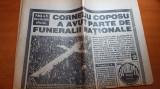 ziarul evenimentul zilei 15 noiembrie 1995 - moartea lui corneliu coposu