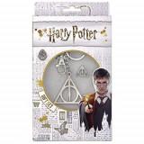 Set De Cadouri Harry Potter Deathly Hallows Keyring And Pin Badge Set