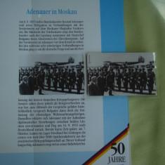 """3 Cartele Telefonice """"50 Jahre Deutschland"""" - Exponate NOI"""