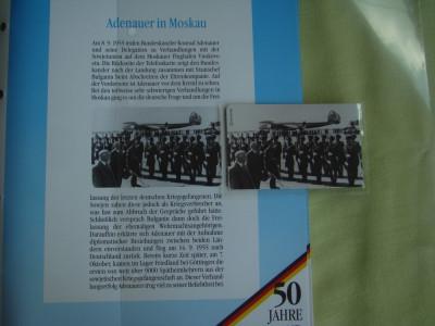 """3 Cartele Telefonice """"50 Jahre Deutschland"""" - Exponate NOI foto"""