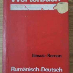 DICTIONAR ROMAN-GERMAN, GERMAN-ROMAN - MARIA ILIESCU, AL.ROMAN