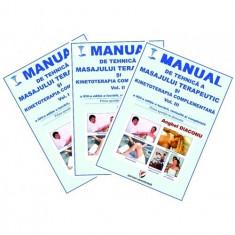 Manual de tehnica a masajului terapeutic si kinetoterapia complementara