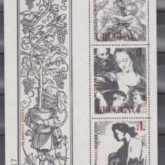 URUGAY 1978, PICTURA RUBENS, COLITA, MNH