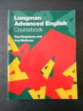 ROY KINGSBURY - LONGMAN ADVANCED ENGLISH. COURSEBOOK