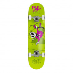 Skateboard Enuff Skully Mini Green 29,5x7,25""