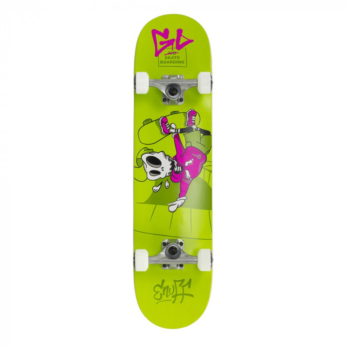 Skateboard Enuff Skully Green 31,5x7,75""