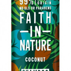Sampon cu cocos, pt. par normal sau uscat, Faith in Nature, 400 ml
