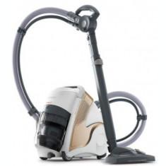 Aparat de curatat cu aburi Polti Unico MCV 85 PBEU0101, Functie Igienizare Abur si Uscare , 2200 W (Alb/Auriu)
