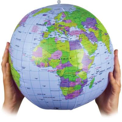 Primul meu glob pamantesc gonflabil foto