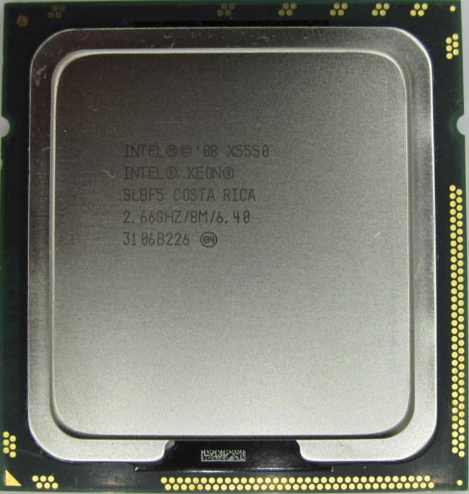 Procesor  Intel® Xeon® Processor X5550  4cores/8 threads socket LGA 1366
