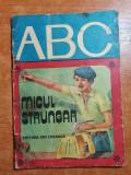 carte colectia ABC- micul strungar 1979
